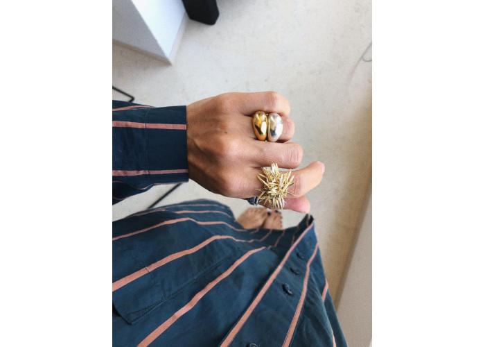 "Кольцо ""Розмарин"" // позолота"