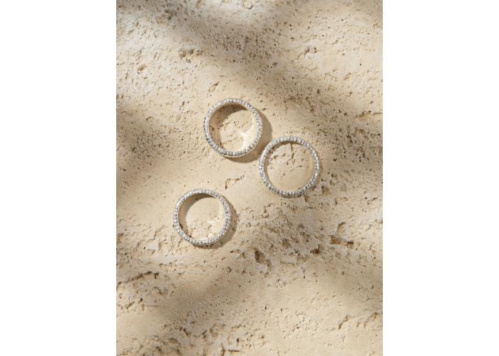 Кольцо Конго тройное // серебро