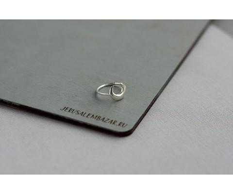 кольцо-луна  // серебро