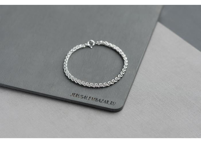 браслет ажурная цепочка // серебро