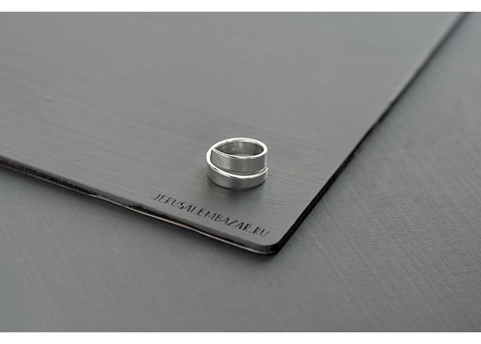 кольцо-спираль // серебро