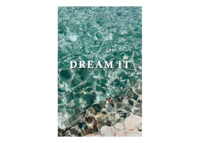 """Открытка """"Dream it"""""""