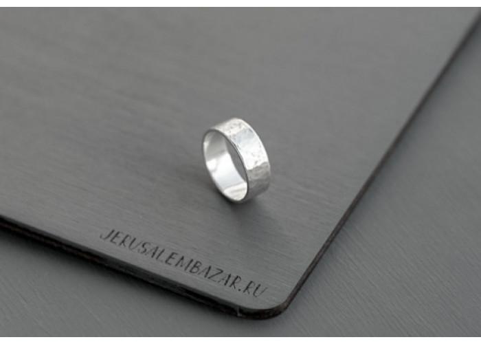 Кольцо прямое // серебро