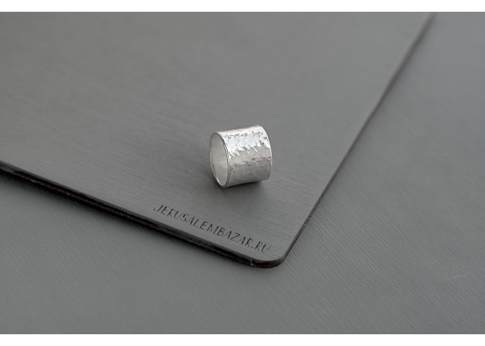 Предзаказ. кольцо широкое // серебро