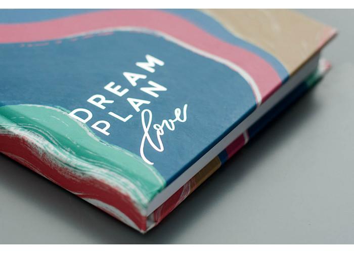 """Блокнот яркий """"Dream Plan Love"""""""
