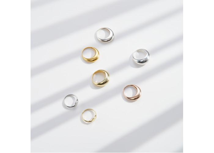 Кольцо-печатка // серебро
