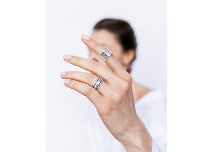 Кольцо-спинер // серебро